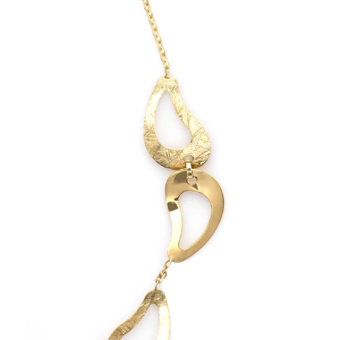 *Fine Jewelry 14 KT Gold, Diamond Cut, Oval Link, - 2