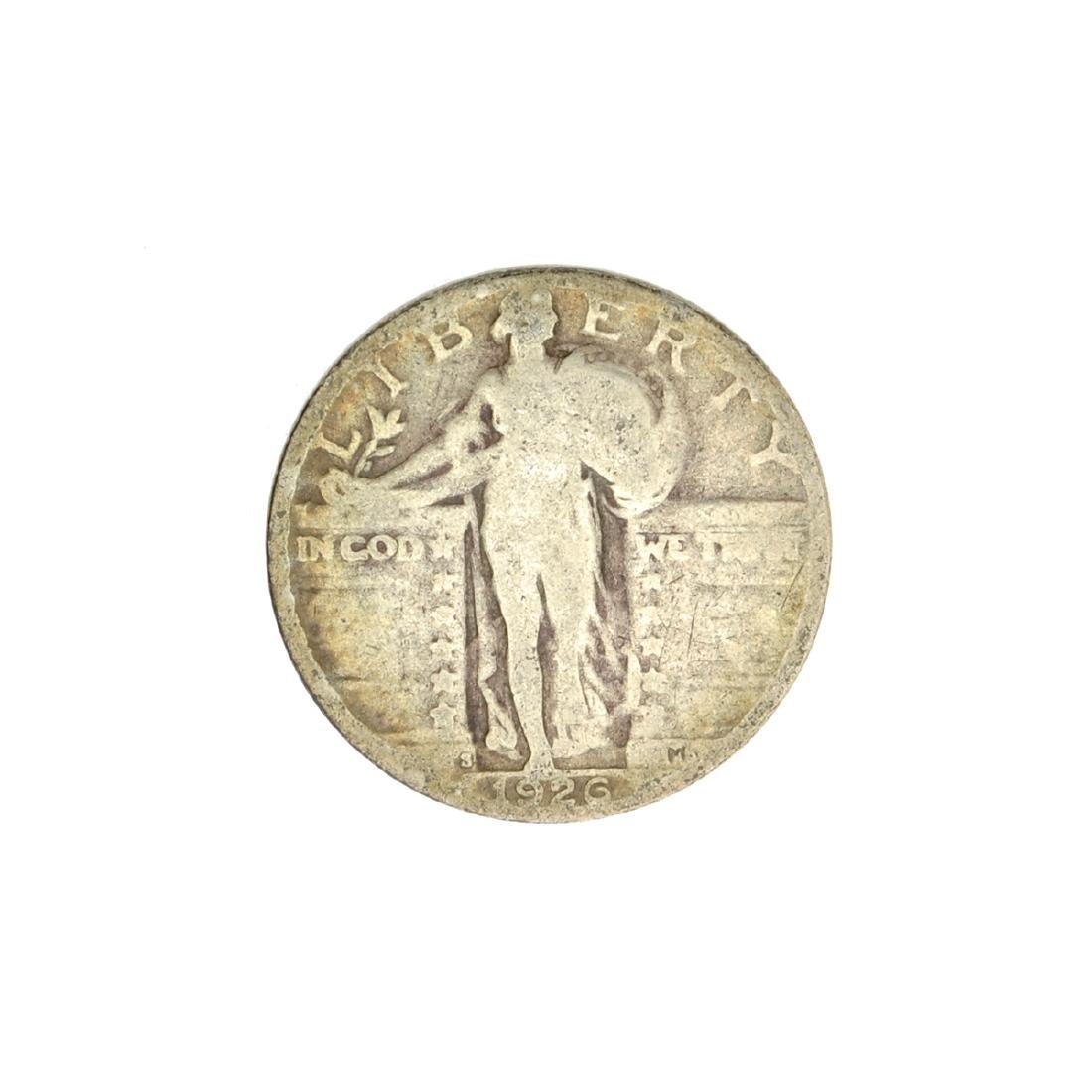 1926 Standing Liberty Quarter Dollar Coin