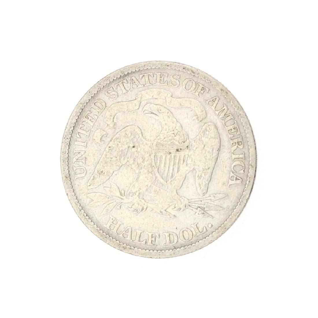 1876 Liberty Seated Half Dollar Coin - 2
