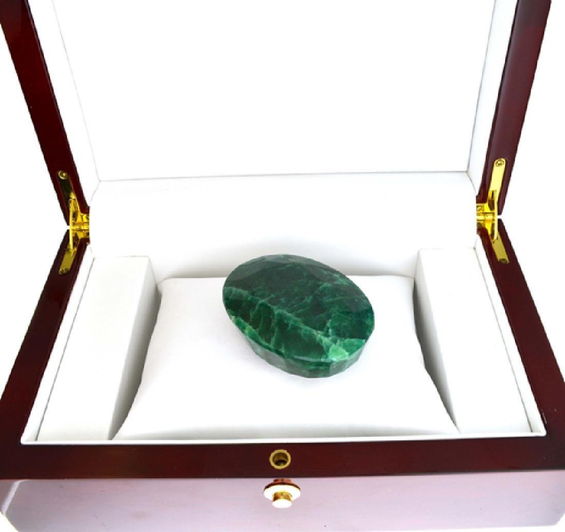APP: 4.4k 550.85CT Oval Cut Green Beryl Emerald