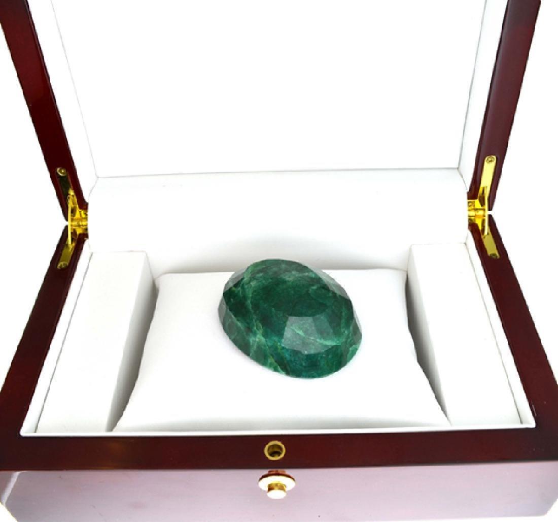 APP: 4.4k 550.85CT Oval Cut Green Beryl Emerald - 2