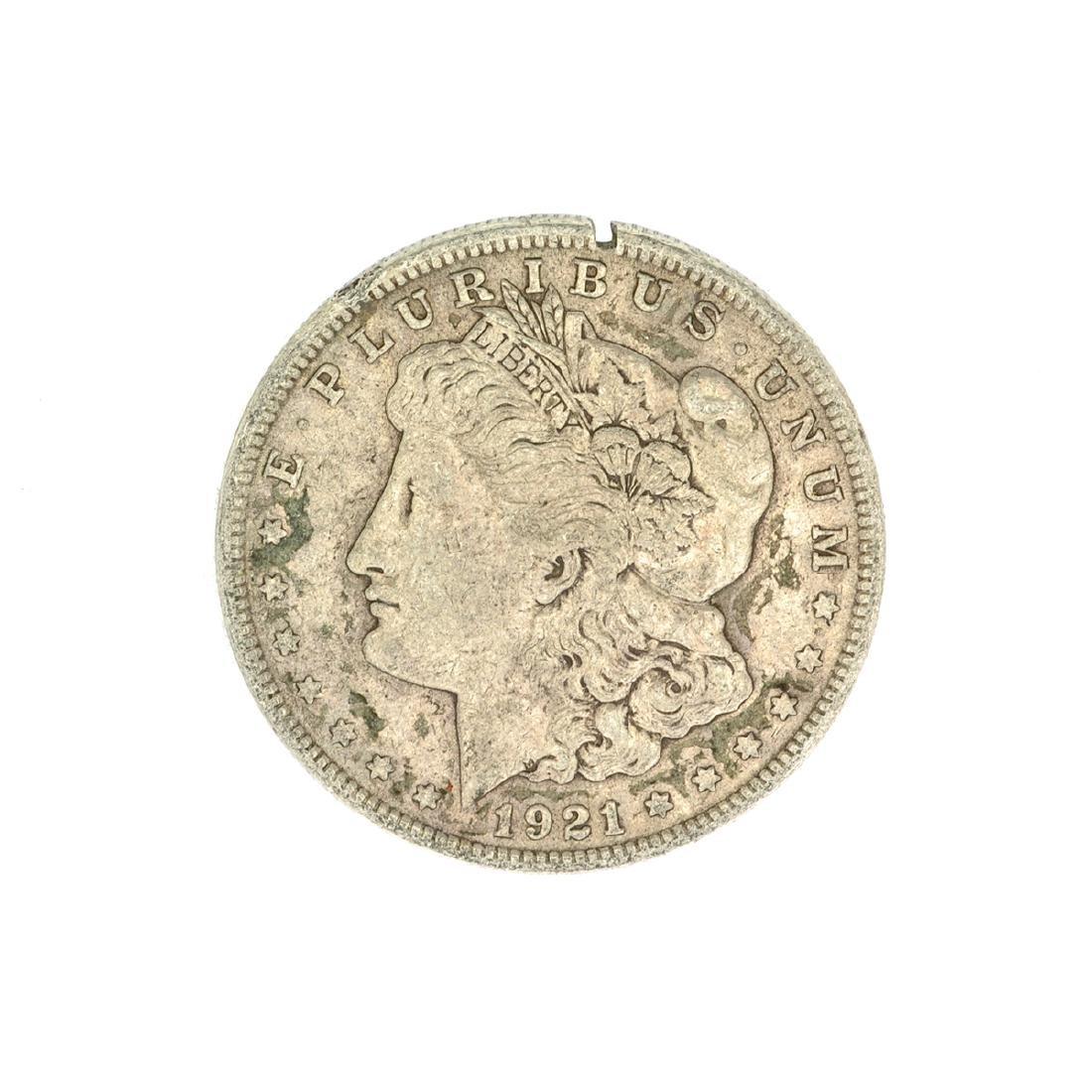 1921 U.S. Morgan Silver Dollar Coin