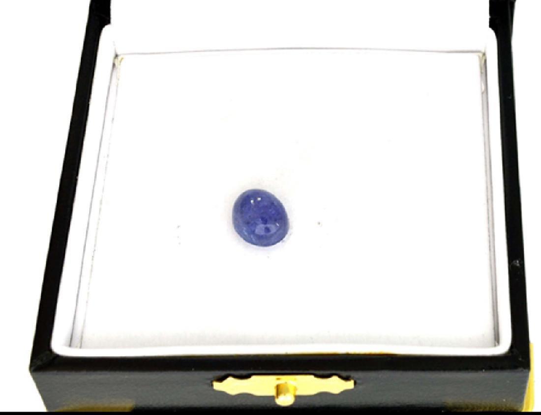 APP: 1k 3.20CT Natural Cabochon Tanzanite Gemstone - 2
