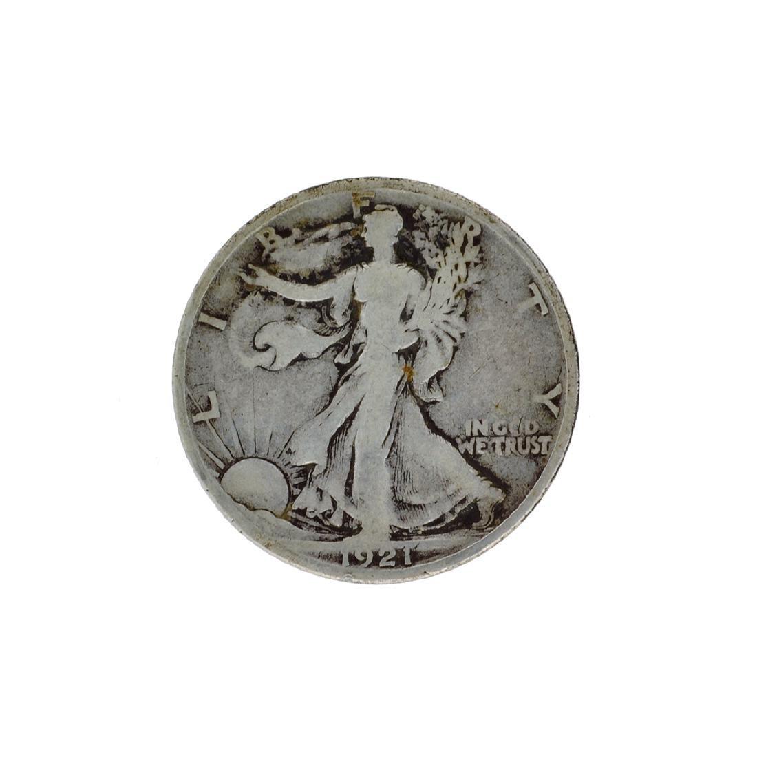 1921-S Walker Half Dollar Coin