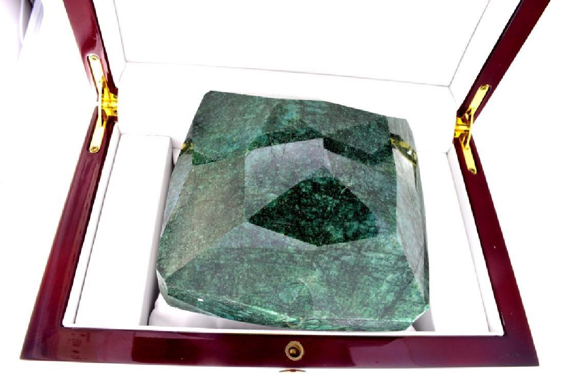 APP: 20.2k 5,481.00CT Cushion Cut Green Beryl Emerald - 2