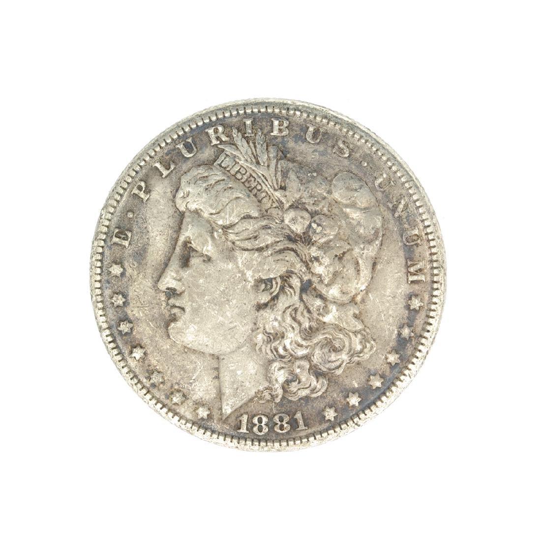 Rare 1881 U.S. Morgan Silver Dollar