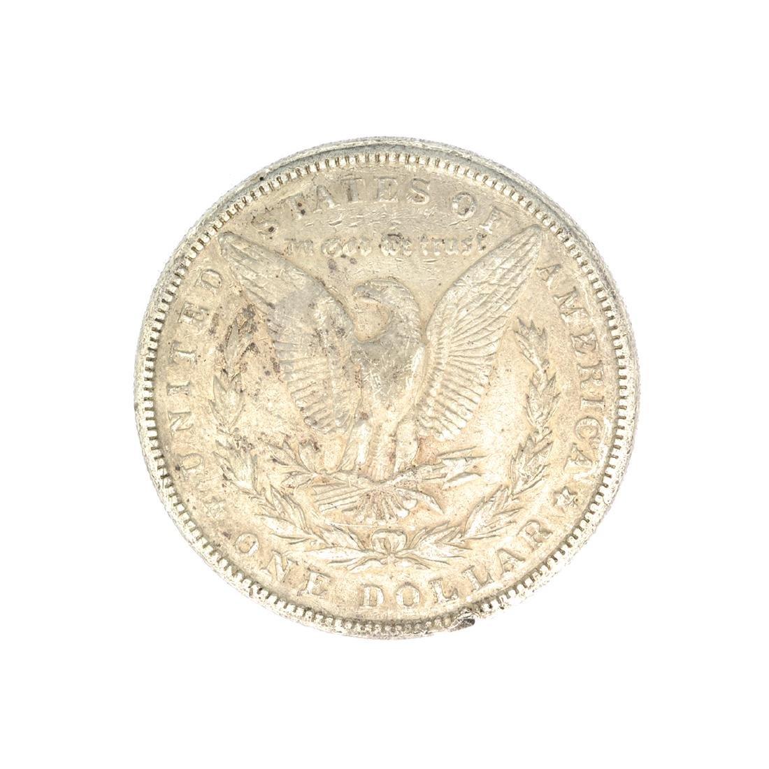 Rare 1881 U.S. Morgan Silver Dollar - 2