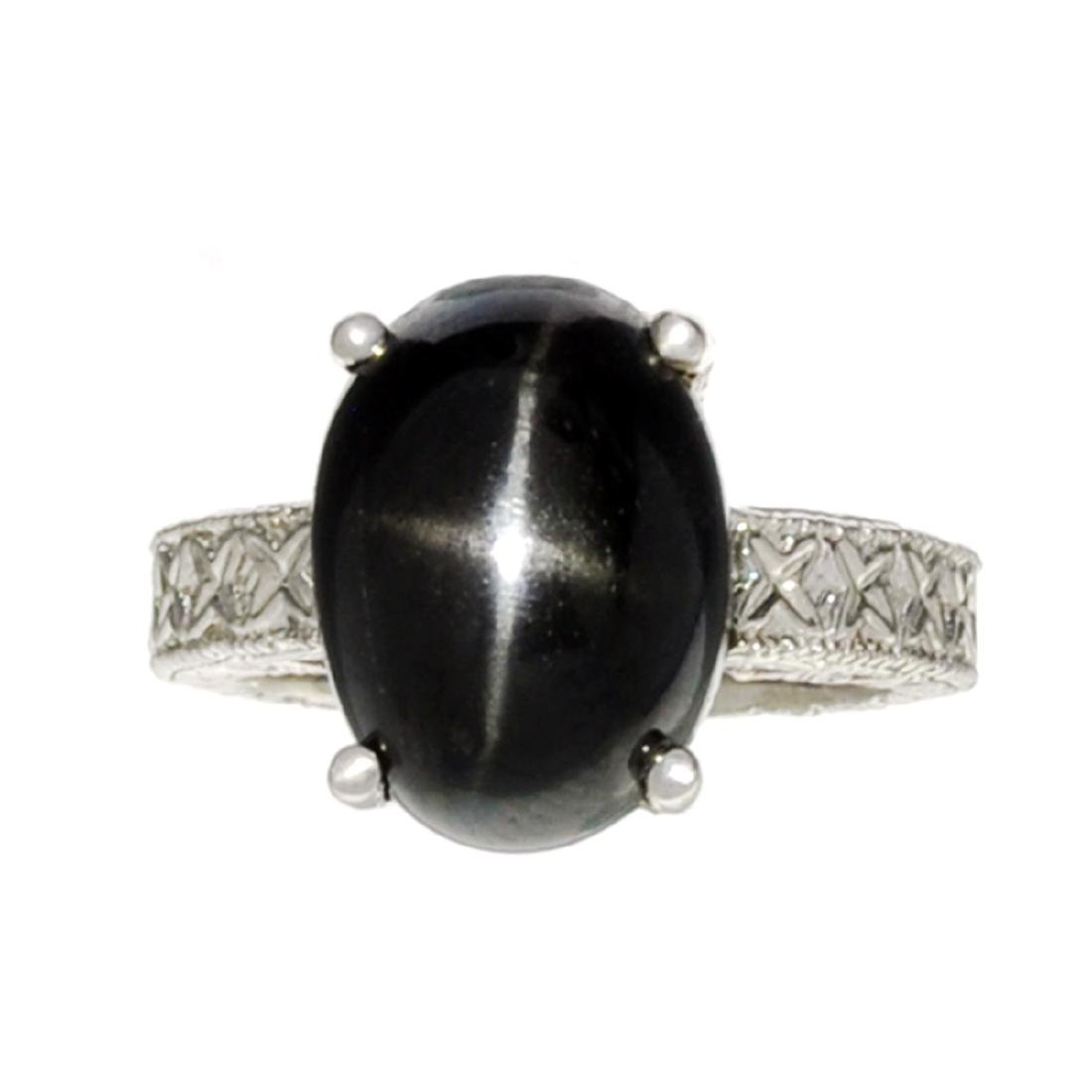 Fine Jewelry Designer Sebastian 9.98CT Oval Cut Black