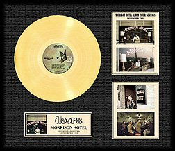 3045: THE DOORS ''Morrison Hotel'' Gold LP with cover o