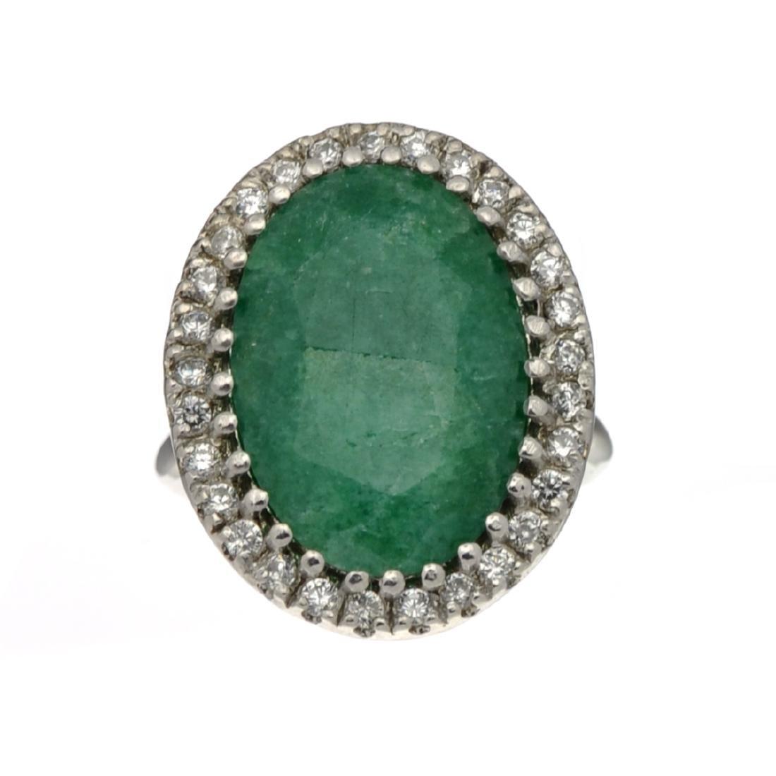 Fine Jewelry Designer Sebastian, Emerald And White