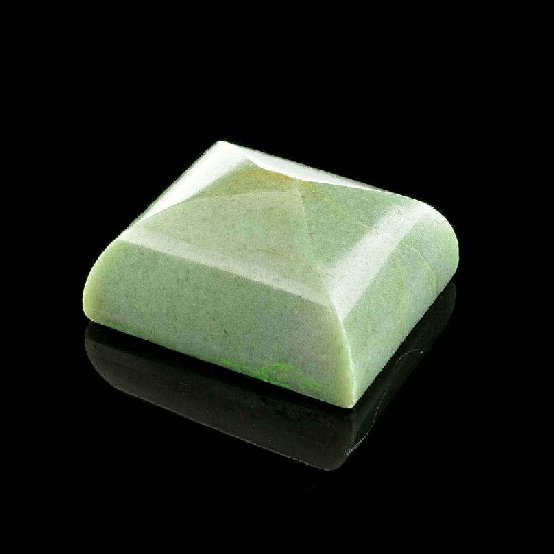 APP: 3.6k 180.00CT Rectangle Cut Guatemala Jade