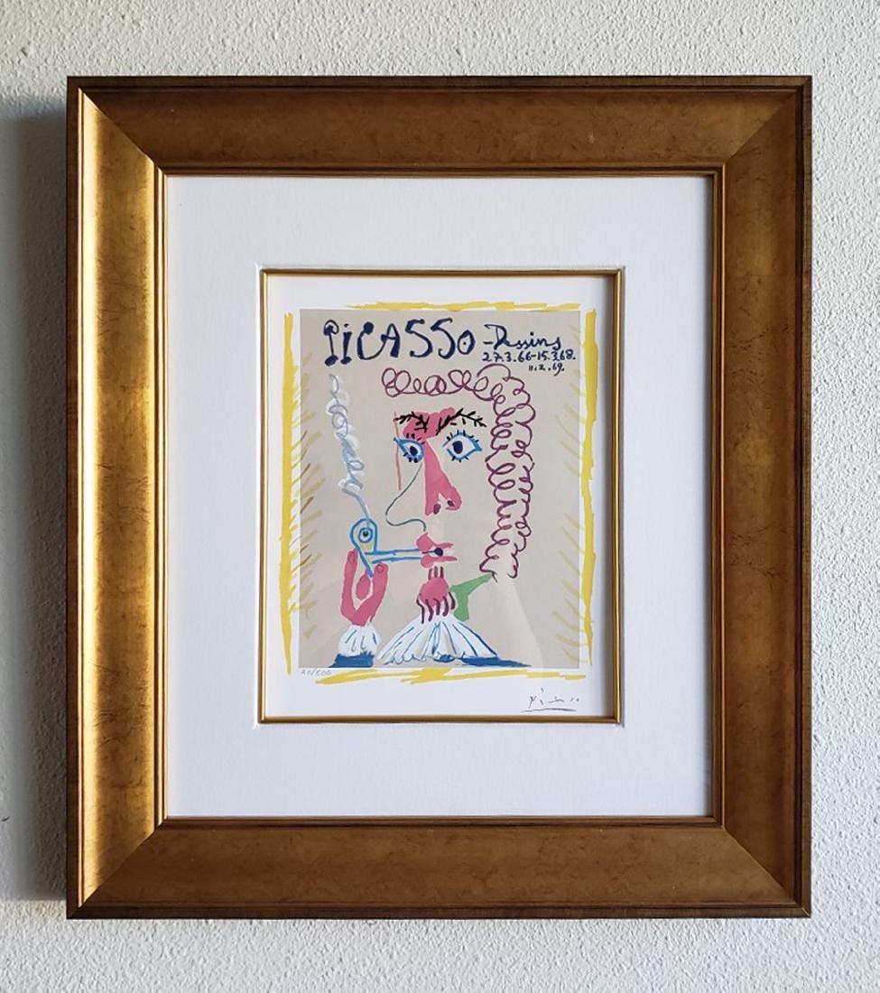 Pablo Picasso Dessins ''''LE FUMEUR'''' limited edition