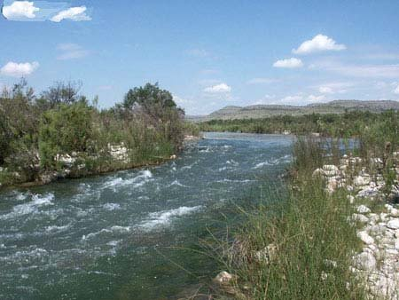 12: GOV: TX LAND, 5.10 AC. PECOS RIVER, STR SALE
