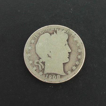 3002: GOV: 1908 Half Dollar Coin, COLLECTABLE!!
