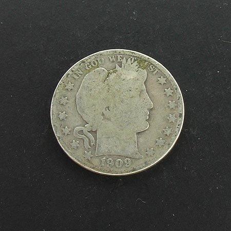 3018: 1909 Half Dollar Coin, COLLECT!