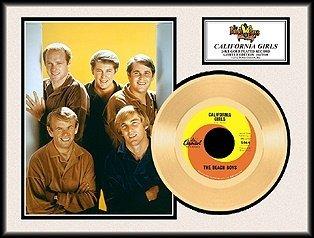 6014: THE BEACH BOYS ''California Girls'' Gold LP