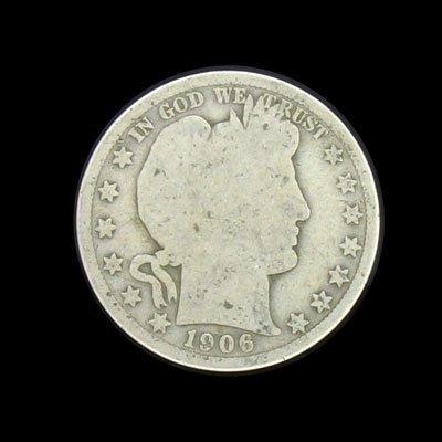 6003: 1906 Half Dollar Coin