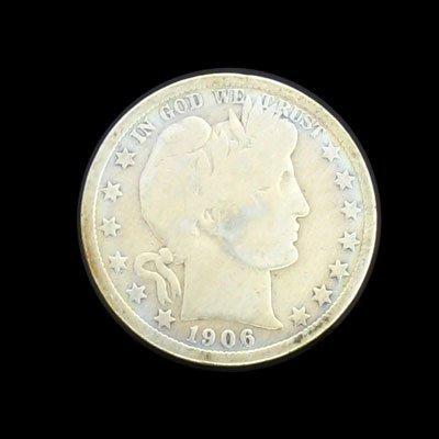 6009: 1906 Half Dollar Coin