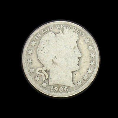 6013: 1906 Half Dollar Coin