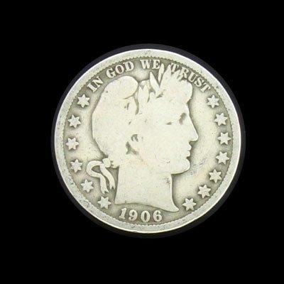 6021: 1906 Half Dollar Coin