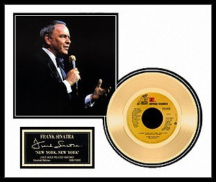 6023: FRANK SINATRA ''New York, New York'' Gold LP