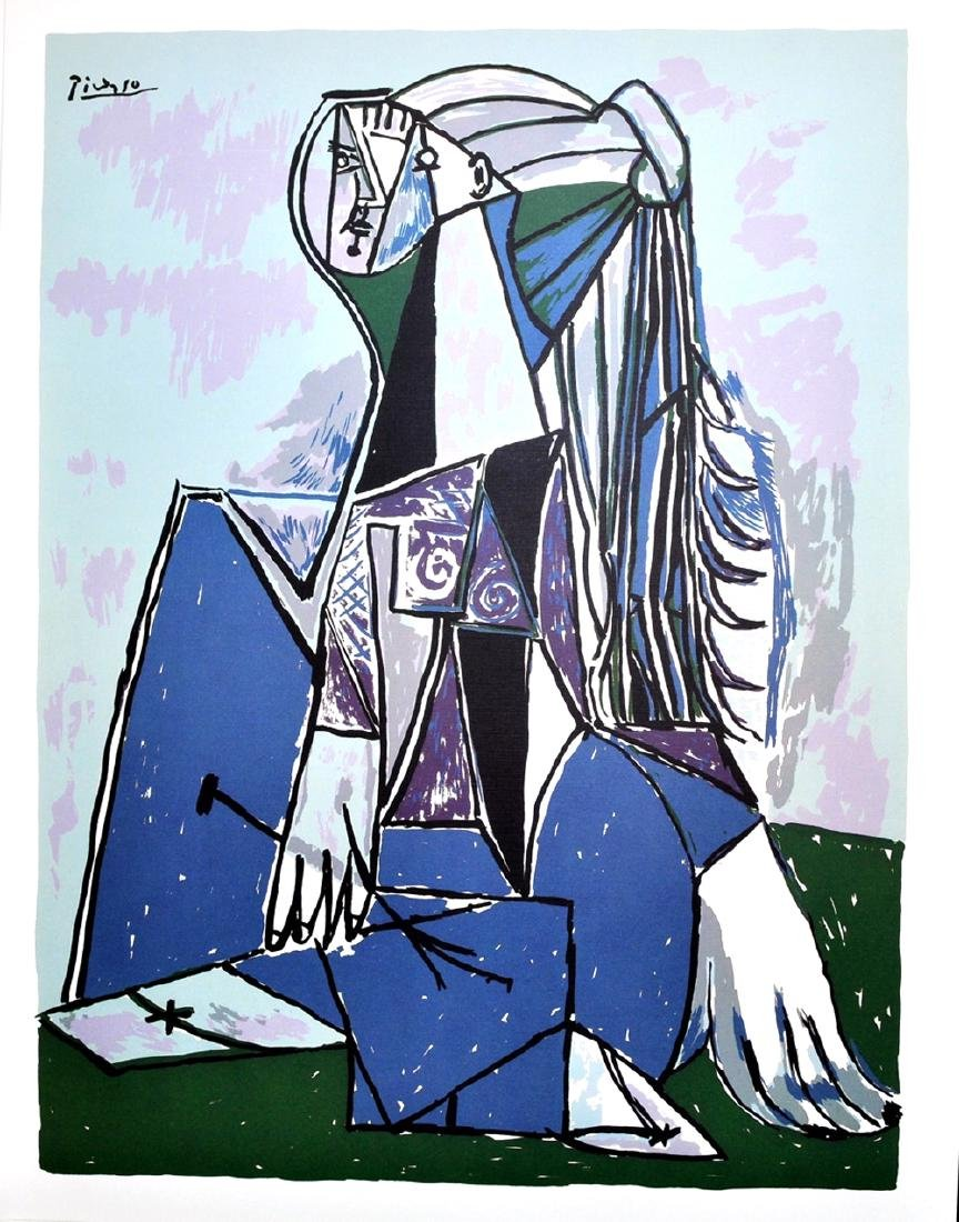 PABLO PICASSO The Thinker Lithograph, 114 of 500