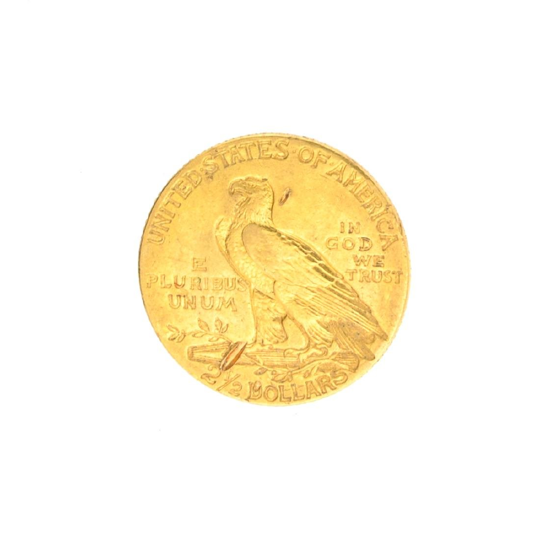 Very Rare 1908 $2.50 U.S. Indian Head Gold Coin Great - 2