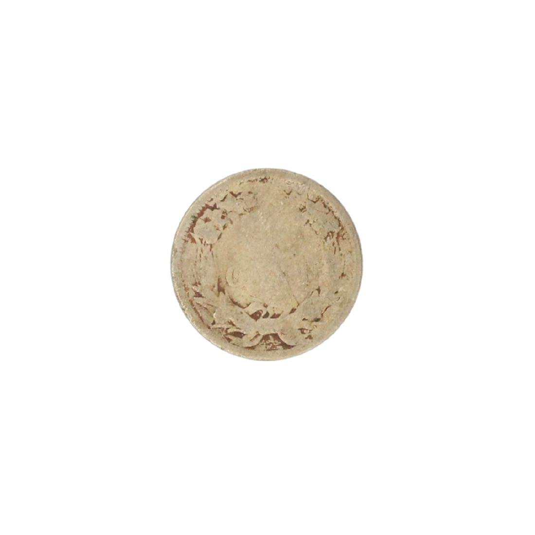 1858 Flying Eagle One Cent Coin - 2