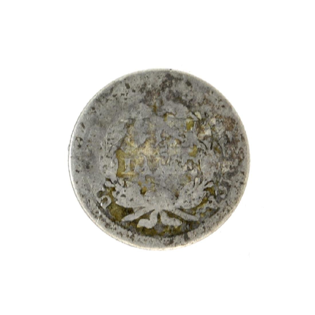 1850 Liberty Seated Dime Coin - 2
