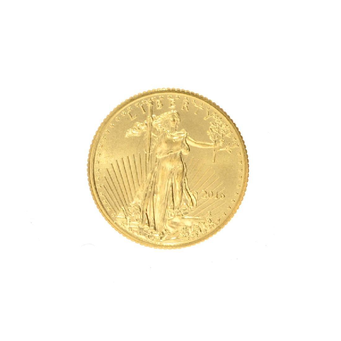2016 1/10 oz. American Gold Eagle Coin