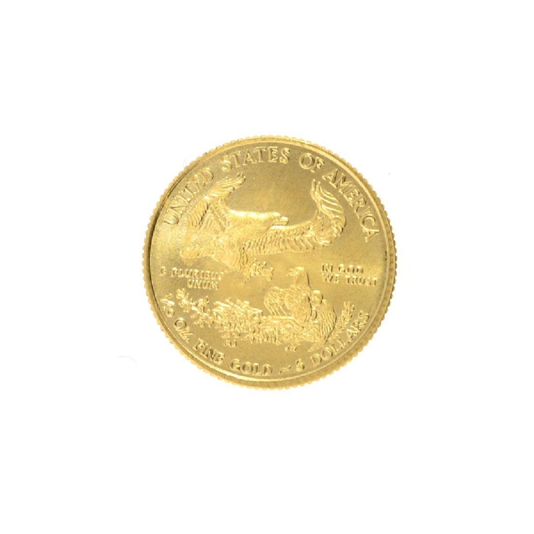 2016 1/10 oz. American Gold Eagle Coin - 2