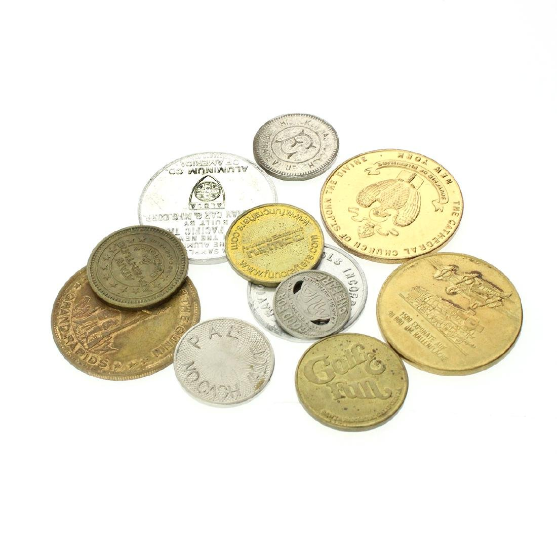 Tokens, Medals, Coins Mix Collection