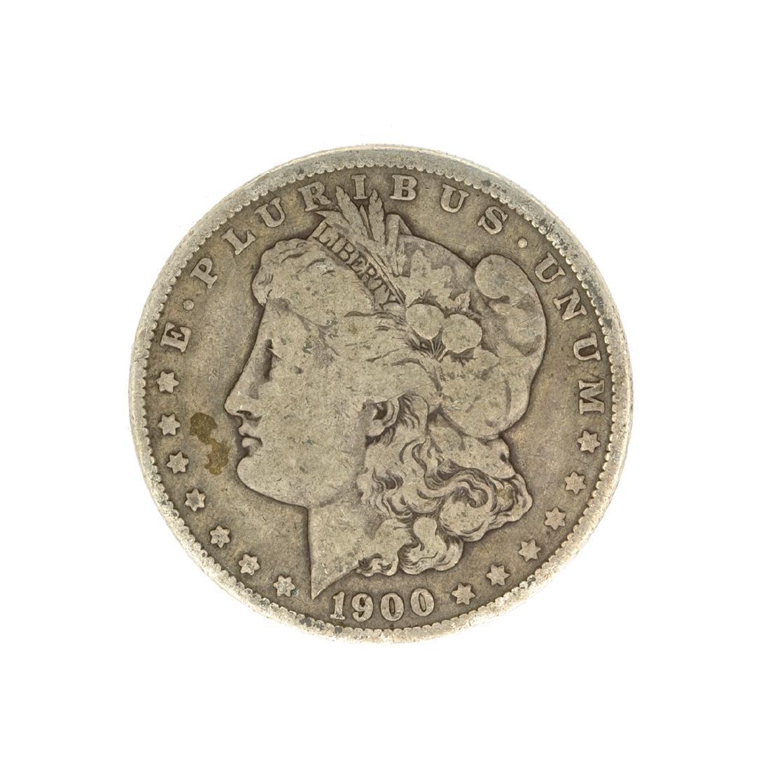 Rare 1900-O U.S. Morgan Silver Dollar