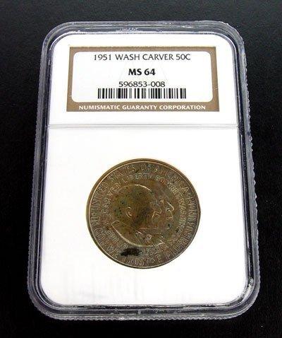 968: 1951 George Washington Carver Half Dollar Coin
