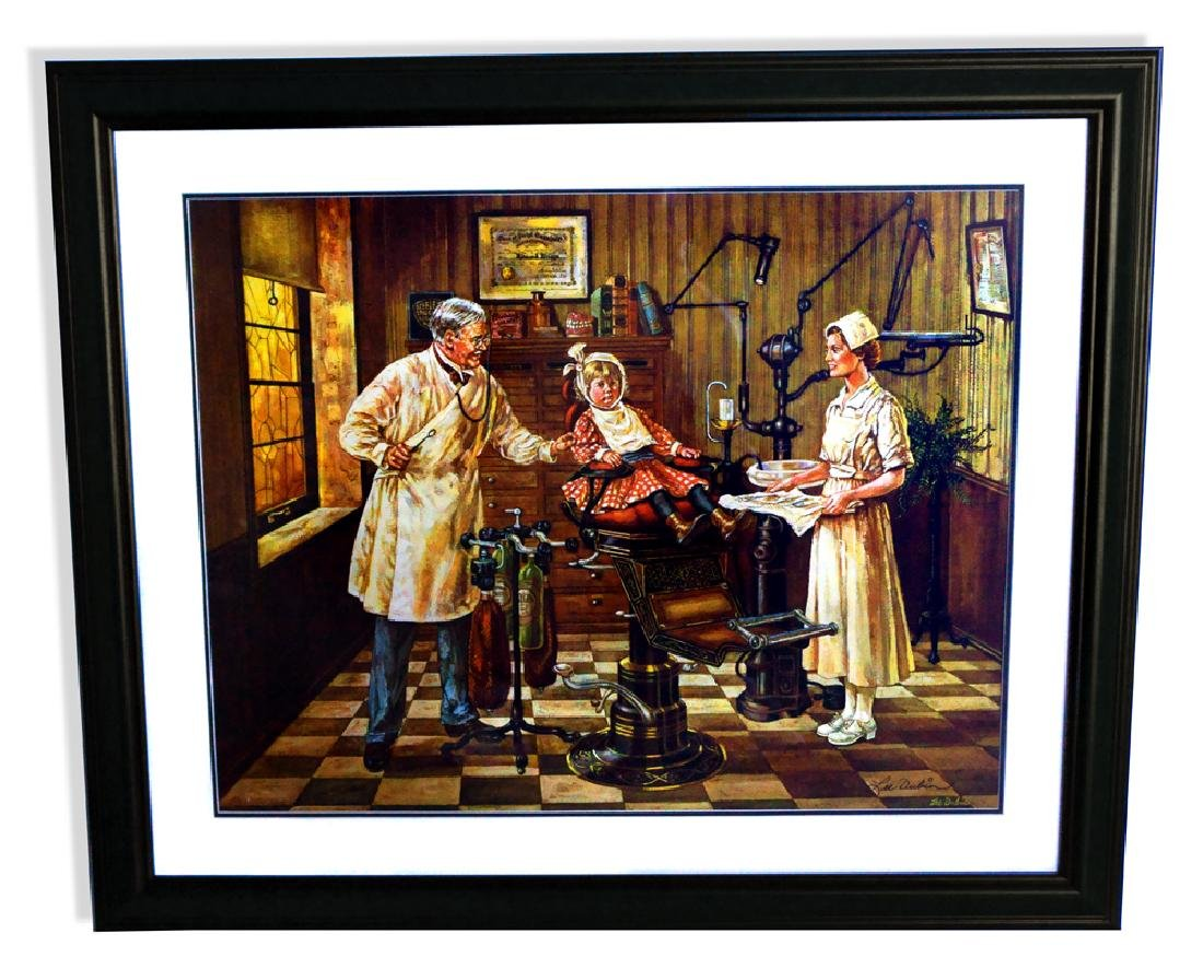 Lee Dubin (After) The Dentist Lithograph - Original