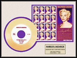 4016: MARILYN MONROE ''Dia.s Are A Girl's Best Friend''