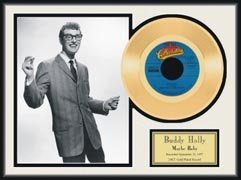4028: BUDDY HOLLY ''Maybe Baby'' Gold LP