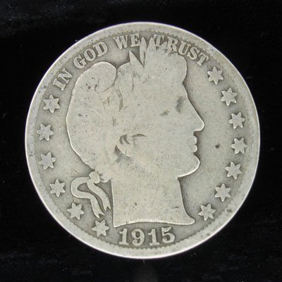 5: 1915 Half Dollar Coin, Investment Potential