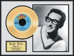 19: BUDDY HOLLY ''Peggy Sue'' Gold Record, Investment!