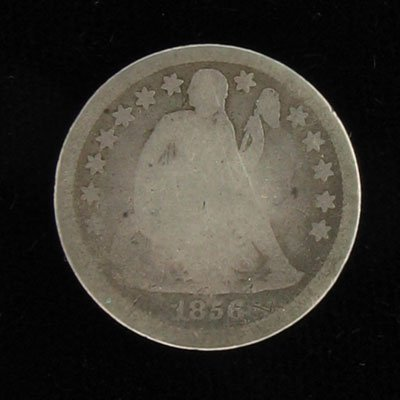 25: 1856 Seated Liberty Dime Coin, Investment Potential