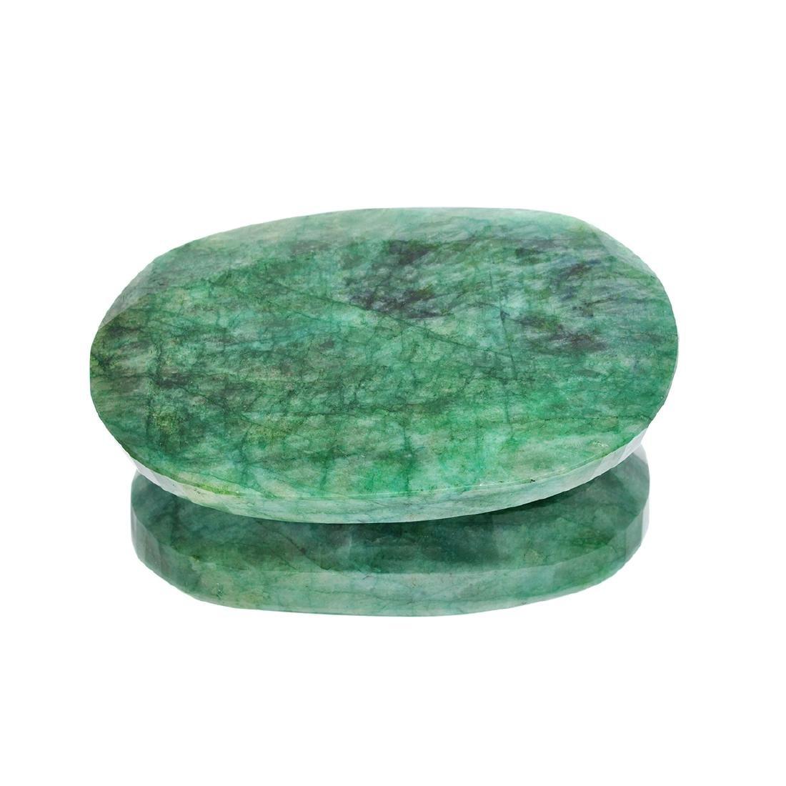 APP: 4.3k 1,711.20CT Oval Cut Green Beryl Emerald
