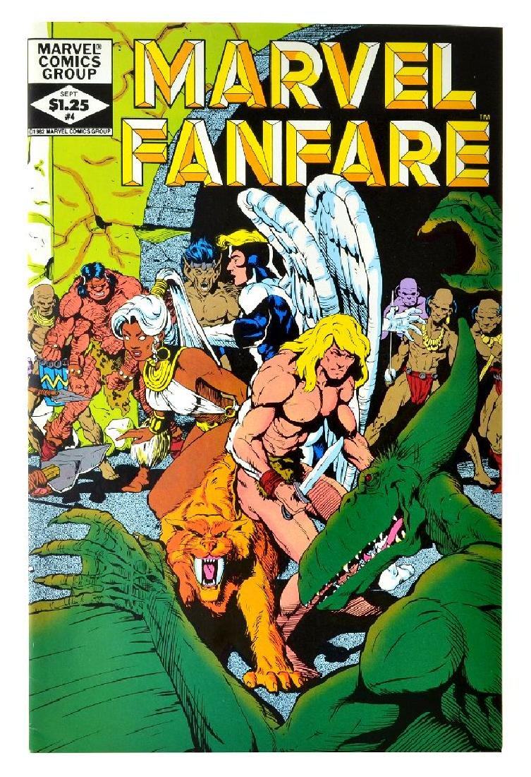 Marvel Fanfare (1982 1st Series) Issue 4
