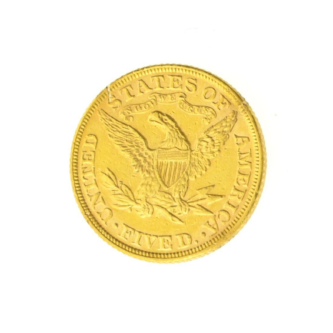 1895 $5.00 U.S. Liberty Head Gold Coin - 2