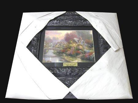 1607: THOMAS KINKADE Museum Framed Calendar Print