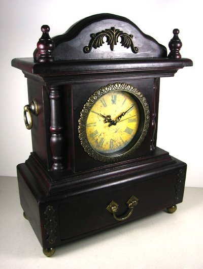 1619: MantlepieceClock with Drawer-Collectible Invest