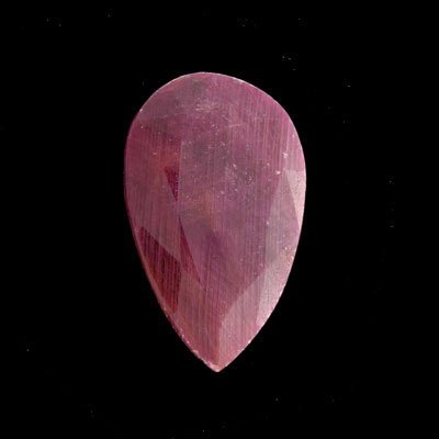 24: APP: $17.2k 71.93CT Pear Ruby Gemstone-Precious Gem