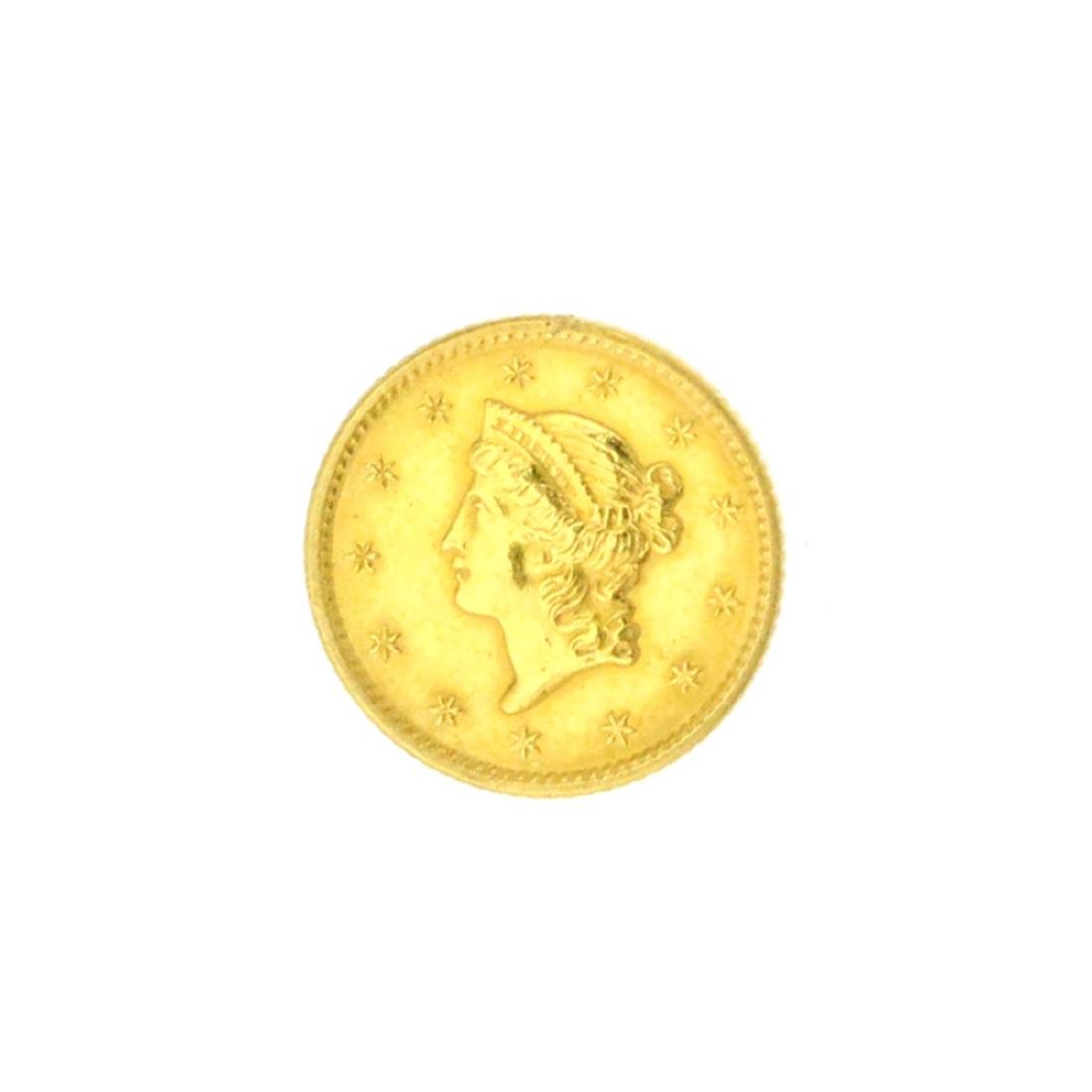 Extremely Rare 1849 $1 U.S. Liberty Head Gold Coin