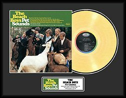 3219: THE BEACH BOYS ''Pet Sounds'' Gold Record-Collect