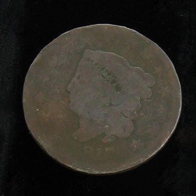 3: 1817 Matron Head with 15 stars One Cent Coin