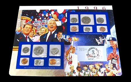 25: 1996 US Uncirculated Mint Set Coins